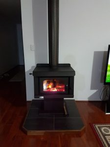 Convector-on-hearth