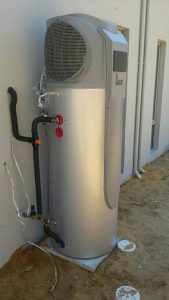 istore heat pump solar hot water