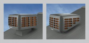 Kaden evaporative air conditioning