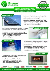 ibreeze air conditioning and solar solutions