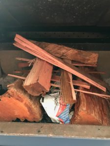 wood heater mandurah stacking of wood. Photo by iBreeze