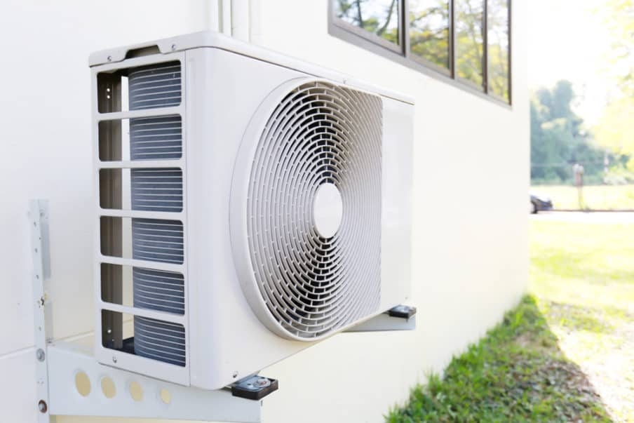 How to hide your air conditioning system outdoor unit