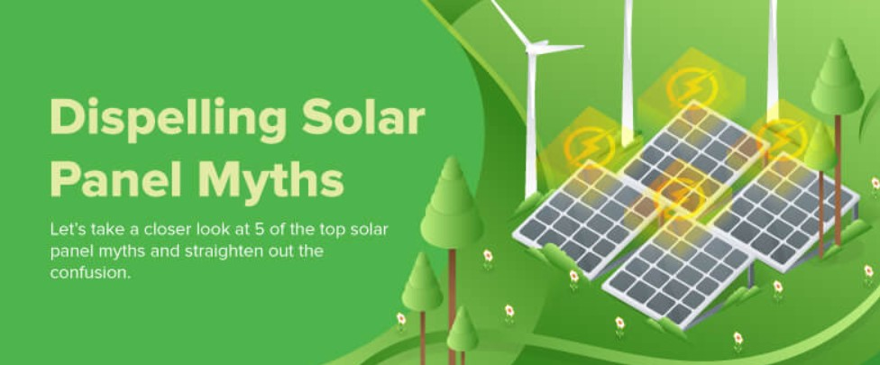 Dispelling Solar Panel Myths ( Infographic)