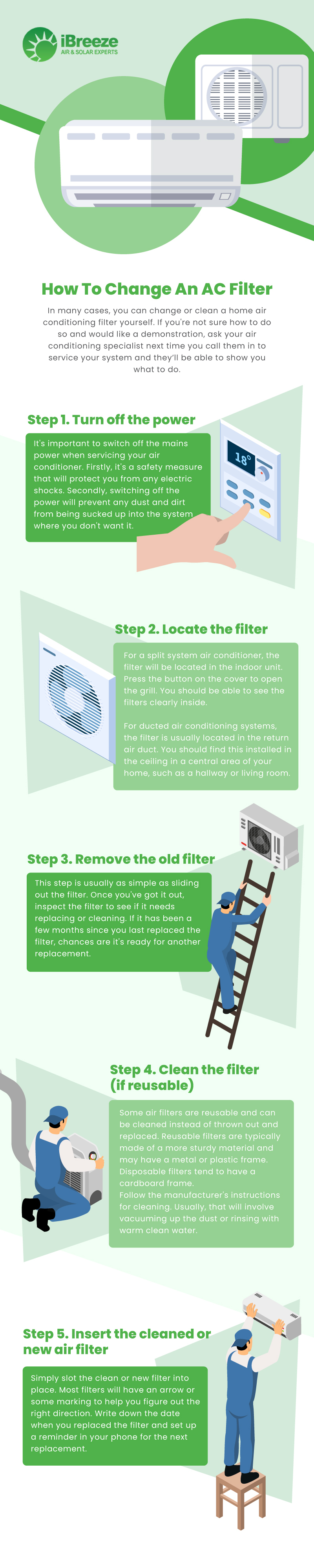 How to Change Your AC Filter at Home-infographic