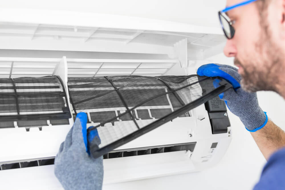 How to change an AC filter
