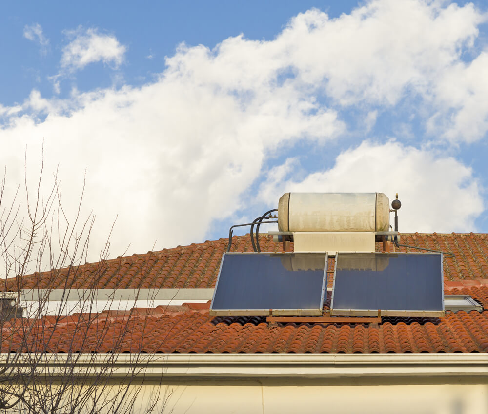 why is my solar hot water not heating